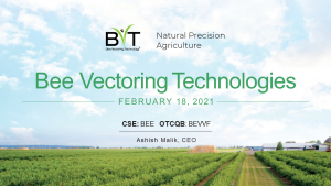 BVT Investor Update - Feb 18 2021